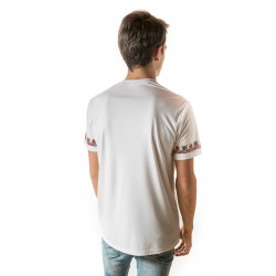 Male t-shirt with national decoration - 001