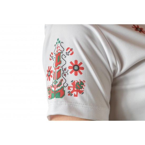 Female t-shirt with national decoration - 006