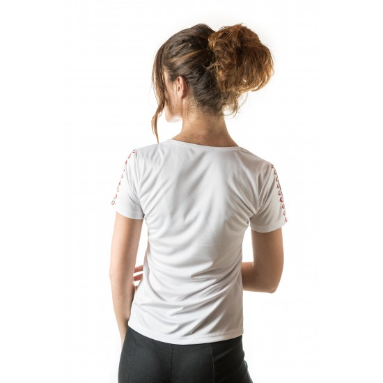 Female t-shirt with national decoration - 007