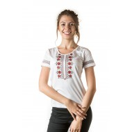 Female t-shirt with national decoration - 015