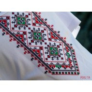 Male t-shirt with national decoration - 005