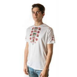 Male t-shirt with national decoration - 006
