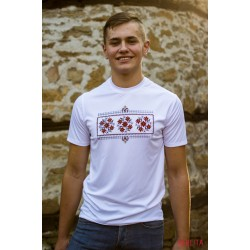 Male t-shirt with national decoration - 009