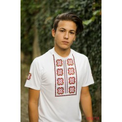 Male t-shirt with national decoration - 011