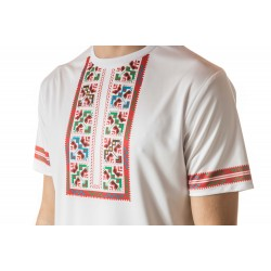 Male t-shirt with national decoration - 014
